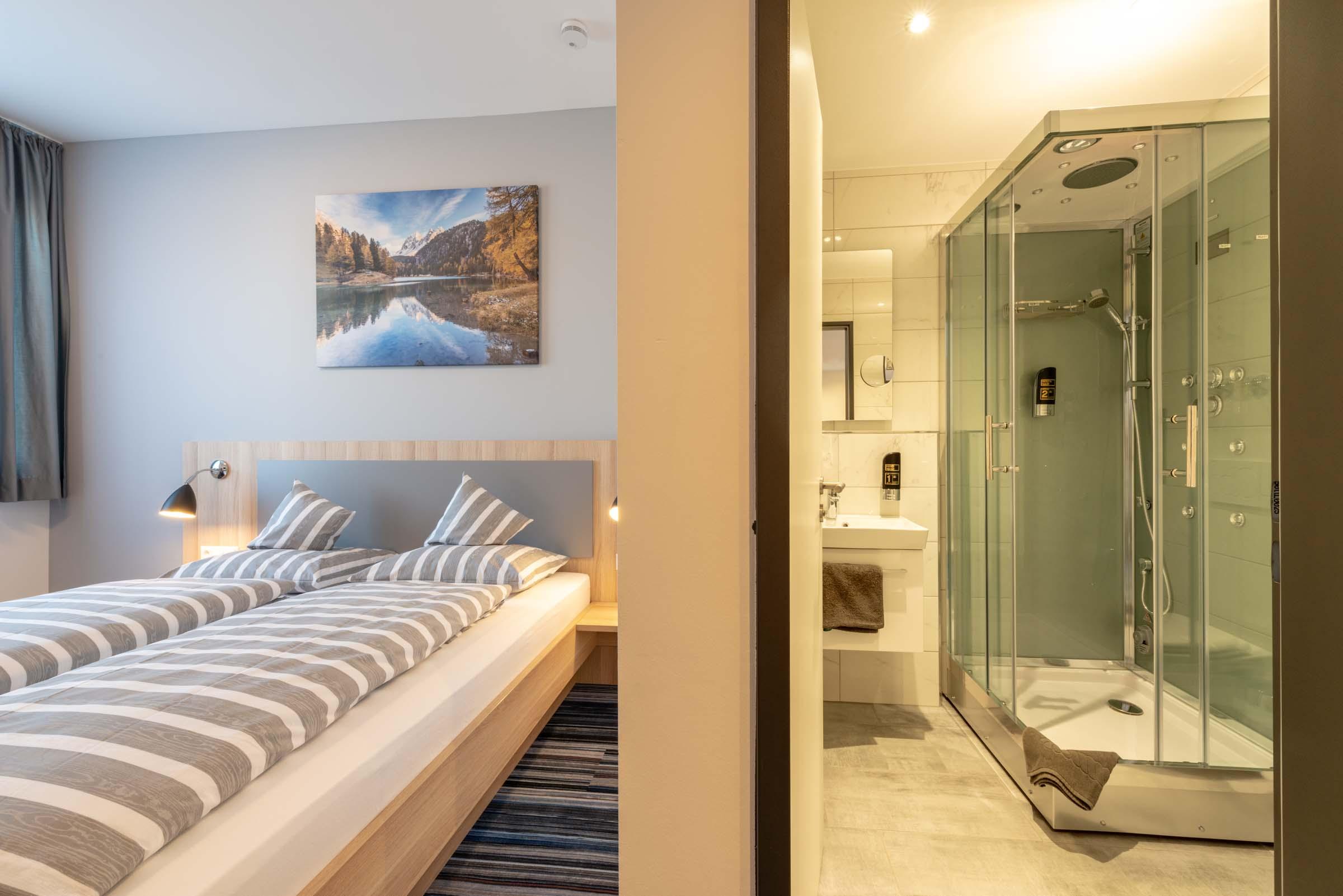 Hotel Lumi Zimmer mit Bad